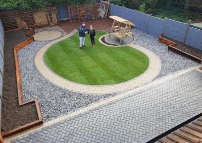Complete garden landscaping services in East London