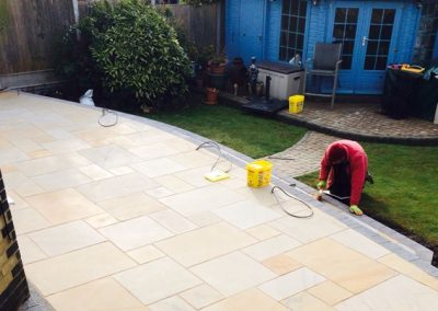 Expert Patio installations in East London